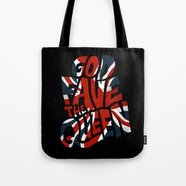God Fave The Queen Tote Bag