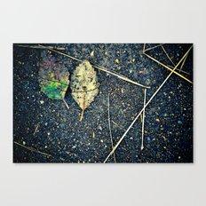 leaf you Canvas Print