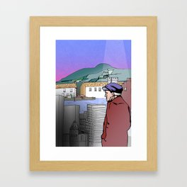 Back to your roots Framed Art Print