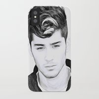 zayn malik iPhone & iPod Cases featuring Zayn Malik by D77 The DigArtisT