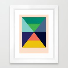 Dhurrie Ocean 3 — Matthew Korbel-Bowers Framed Art Print