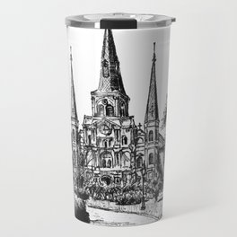 St. Louis Cathedral, New Orleans Travel Mug