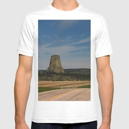 Road To Devils Tower T-shirt