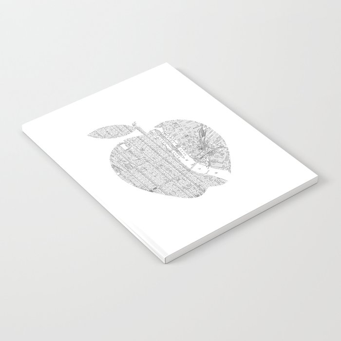New York City big apple Poster black and white I Heart I Love NYC home decor bedroom wall art Notebook