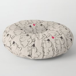 cats II Floor Pillow
