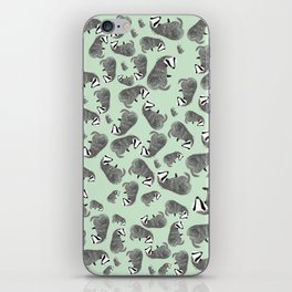Badger pattern iPhone Skin