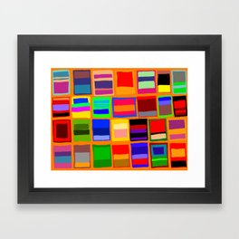 Rothkoesque Framed Art Print