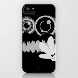 MUTE BLACK SiDE ver. (Original Characters Art by AKIRA) iPhone Case