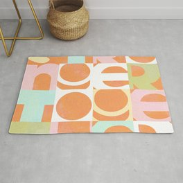Stronger Together #peachy  Rug