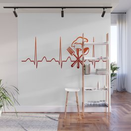 CHEF HEARTBEAT Wall Mural