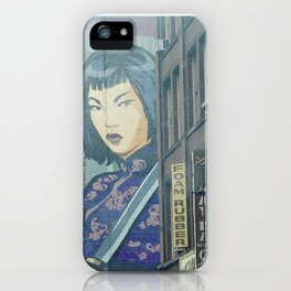 China Town Photography Art iPhone Case
