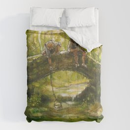 Little Rivers (original) Comforters