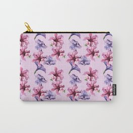 Watercolor floral seamless pattern. Carry-All Pouch