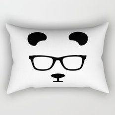 Nerd Panda Rectangular Pillow