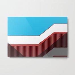 Skymetric • 3 Metal Print