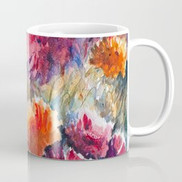 Watercolor Floral Bouquet  Coffee Mug