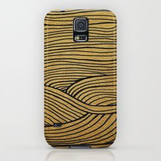 Wind Gold Black Galaxy S5 Slim Case