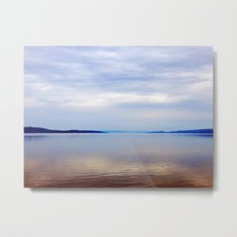 Matapedia River Mouth Metal Print
