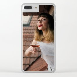 Spit it Out Clear iPhone Case