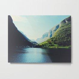 Mountains XII Metal Print