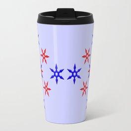 Shuriken Design version 3 Travel Mug