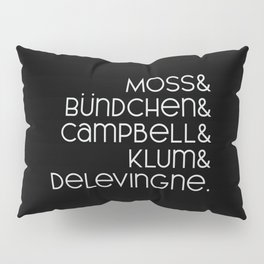 The Top Model List Pillow Sham
