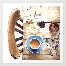Table setting Art Print
