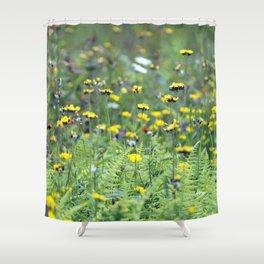 Summer Field Killington Vermont Shower Curtain