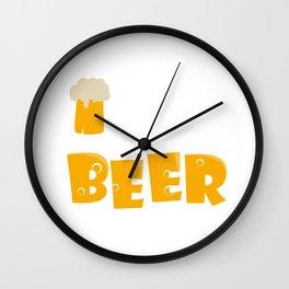 Irish youd buy me a beer Wall Clock
