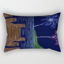 Just Watch the Fireworks Rectangular Pillow