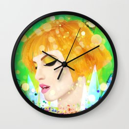 Digital Painting - Hayley Williams Wall Clock