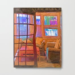 Sun Porch Metal Print
