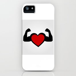 Healthy heart, healthy you iPhone Case