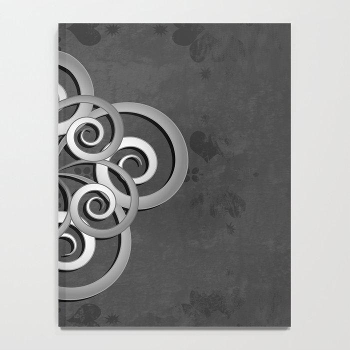 Beautiful Celtic style design Notebook