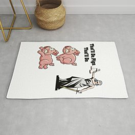 Justice Equality Pride Dignity Rug
