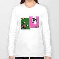 wall e Long Sleeve T-shirts featuring WALL-E by iankingart