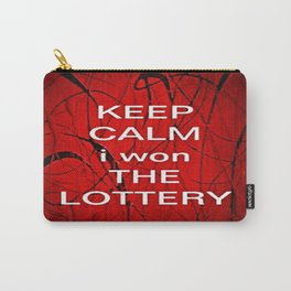 Keep Calm I Won The Lottery - phone cases for 6 - phone cases for 6s plus Carry-All Pouch