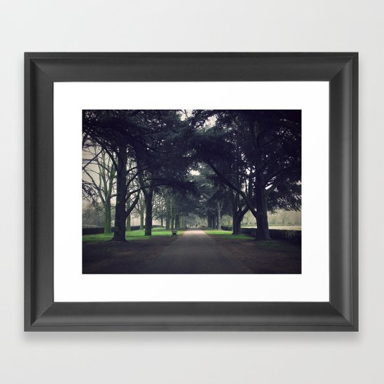 Walk. Framed Art Print