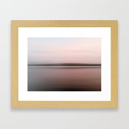 Canandaigua Lake Late Afternoon West Framed Art Print