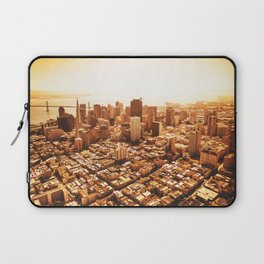 san francisco skyline Laptop Sleeve