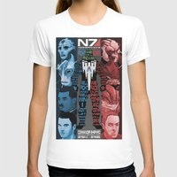 n7 T-shirts featuring N7: The Male Squad by Alex Rodway Illustration
