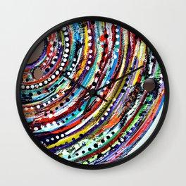 Color Vortex Wall Clock
