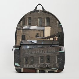 Chicago Skyline, Chicago Architecture, Old Advertising Backpack