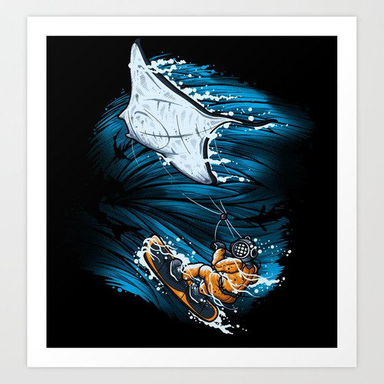 SUBOCEANIC EXTREME Art Print