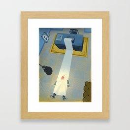 Crime Fiction Framed Art Print