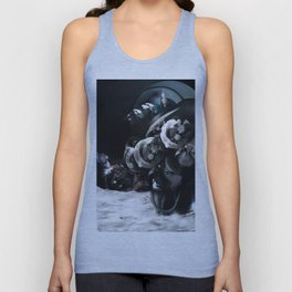 In the voiceless Night Unisex Tank Top