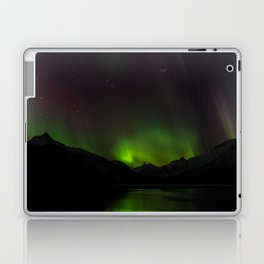 Northern Lights in Norway 01 Laptop & iPad Skin