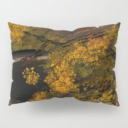 Autumn Leaves and Stream Pillow Sham