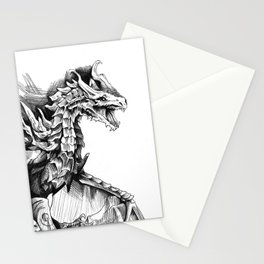 Alduin, the World Eater Stationery Cards