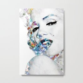 Marilyn Monroe (NOW WITH MORE SIZES) Metal Print